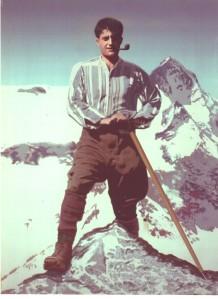 color on Mt. Viso 1923