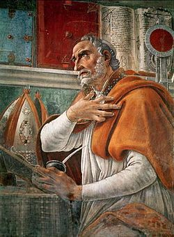 one page summary on st augustines Augustine summary  since st augustine's mature philosophical ideas are primarily stemming from the  we first focused on one particular epistemological.