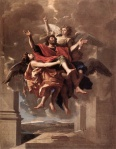 Nicolas-Poussin-The-Ecstasy-of-Saint-Paul-1649-50