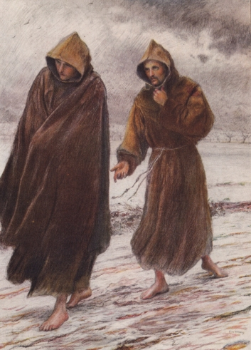 St Francis sets forth to Friar Leo.jpg
