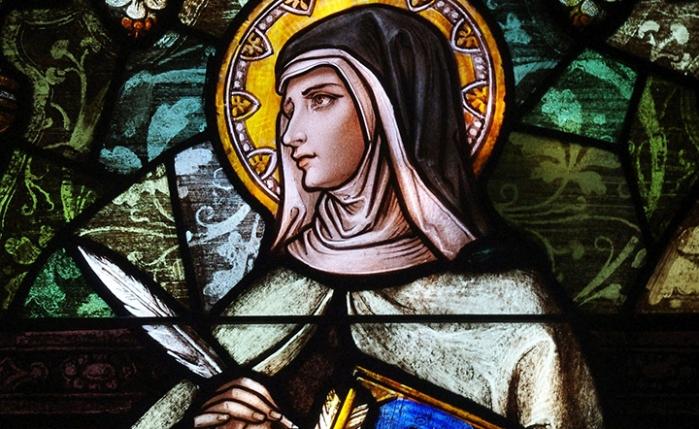 Image result for st teresa of avila stained glass