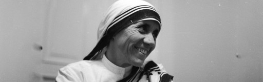 Image result for saint happy mother teresa
